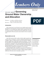 Ohio Groundwater Law