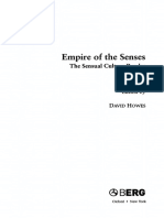 HOWES, DAVID - Empire of the Senses