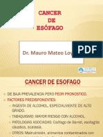 Tema 44; Cancer de Esofago