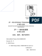 ZF4wg200 transmission Manual