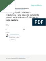 Autorregulacion y Hetero-regulacion Una Apuesta Su