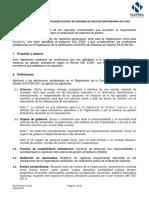 Anexo Reglamento ISO 37001