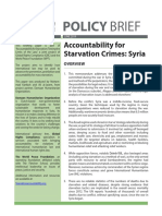 'Accountability for Starvation