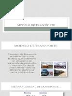 Metodo de Transporte