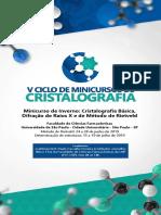 Folder - V Ciclo de Minicursos