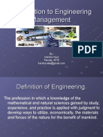 Introduction to Engineering Management 2