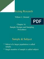 Sampling  (Final)