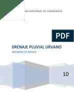 drenaje pluvial