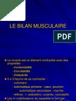 LE BILAN MUSCULAIRE.ppt