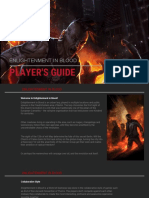 Enlightment in Blood Players Guide