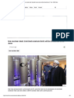 Iran Nuclear Deal_ Enriched Uranium Limit Will Be Breached on 27 June - BBC News