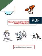 Manual Para Laboratorio de Farmacitecnia i