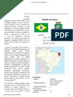 Ceará - estado brasileiro.