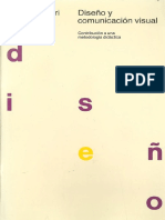munari, b. - diseño y comunicación visual