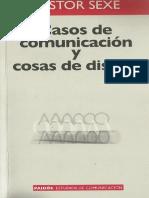 sexe, n. - casos de comunicación y cosas de diseño