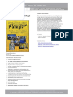 Operator's Guide to Centrifugal Pumps