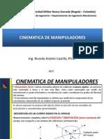 Cinematica de Manipuladores 2017