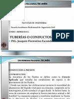 1. Hidraulica Tuberias Alumnos