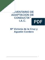 Inventario de Adaptación de Conducta - Iac