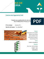 Proyecto de Albañileria Montoro