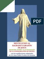 Mes de Junio al Sagrado Corazón de Jesús 2019 con las meditaciones de S.S. Juan Pablo II