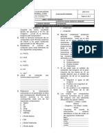 Evaluacion General 10 Periodo 3