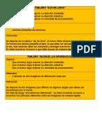Instrucciones Batería Cognitiva infantil