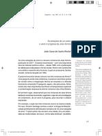 ROCHA, João Cezar. as Estacoes de Um Autor. o Work in Progress e João Almino