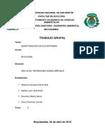 Investigacion de Ecosistemas - Informe