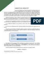 CASO 1 - Planeamiento Del Producto