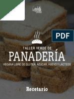 Recetario Taller de Panadería 2 de Marzo (1)