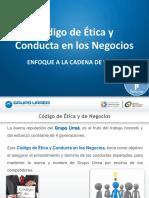 Código de Ética Cadena de Valor 2012 Español
