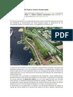 El diseño urbano sustentable