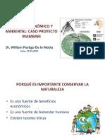 Proyectos de inversión y evaluación ambiental