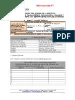 Formato de Memorando de Planeación Contraloria G.N