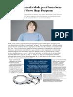 Redução Da Maioridade Penal Artigo Publicação