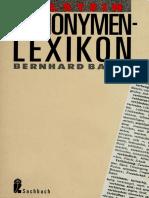 Synonymen-Lexikon (Bernhard Bauer)