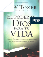 El Poder de Dios Para Tu Vida - A. W. Tozer