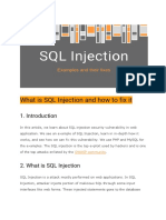 What is SQL Injection and How to Fix It