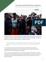 11-06-2019 Esperan Estado y Municipios Ayuda Federal Para Migrantes-El Imparcial