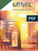 Journal for Waldorf-Rudolf Steiner Education Vol_15-1_Mar 2013