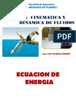 Ecuación de Energía
