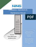 Installation Operation Maintenance Manual BENNING INVERTRONIC 3ph 40kVA