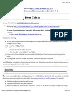4. Shah - Debt Crisis II