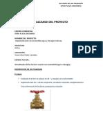 Alcance de Proyecto Acometida SUBWAY IISS