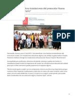 10-06-2019 Entrega Gobernadora instalaciones del preescolar Nueva Creación Bicentenario-Canal Sonora