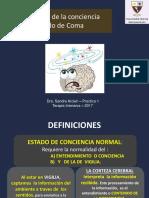 Alteracion Conciencia Coma