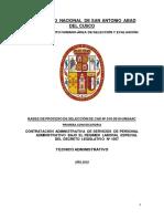 Bases Cas 010-2019 Cas Tecnico Administrativo Santo Tomas