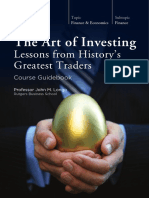 The Art of Investing Lessons From History's Greatest Traders