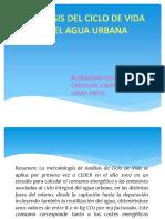 Analisis Ciclo de Vida Agua